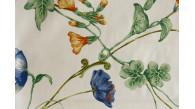 01023 GARDEN coloris 0003 IVOIRE BLEU JAUNE dessin 3923