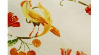 01023 POMONE coloris 0003 IVOIRE ROUGE JAUNE ORANGE dessin 3922