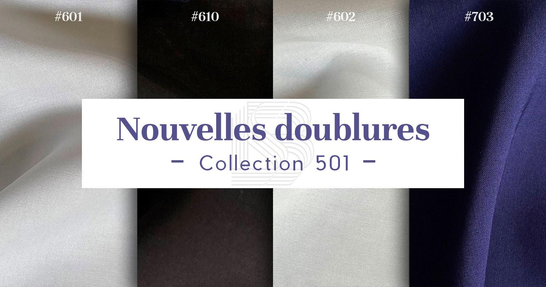 Nouvelles doublures - Collection 501