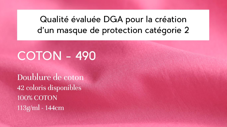 qualité 490